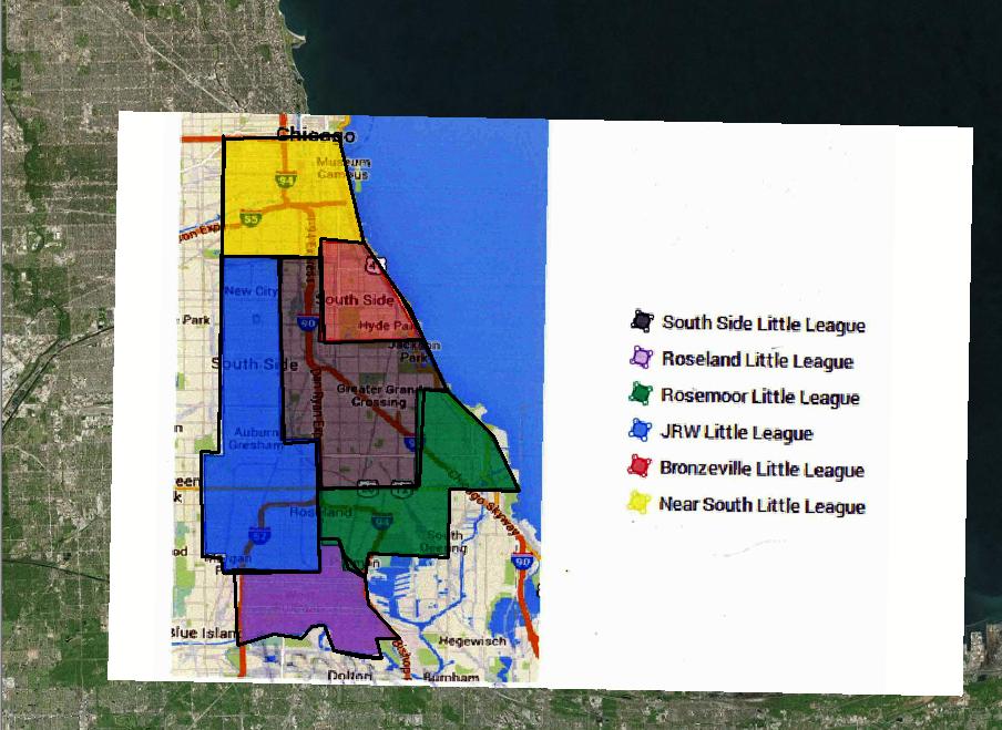 Jackie Robinson West Gerrymandering In ChicagoAB - Us baseball map