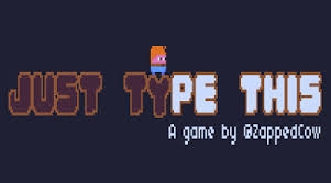 http://www.pixellovegames.com/games/justtypethis/