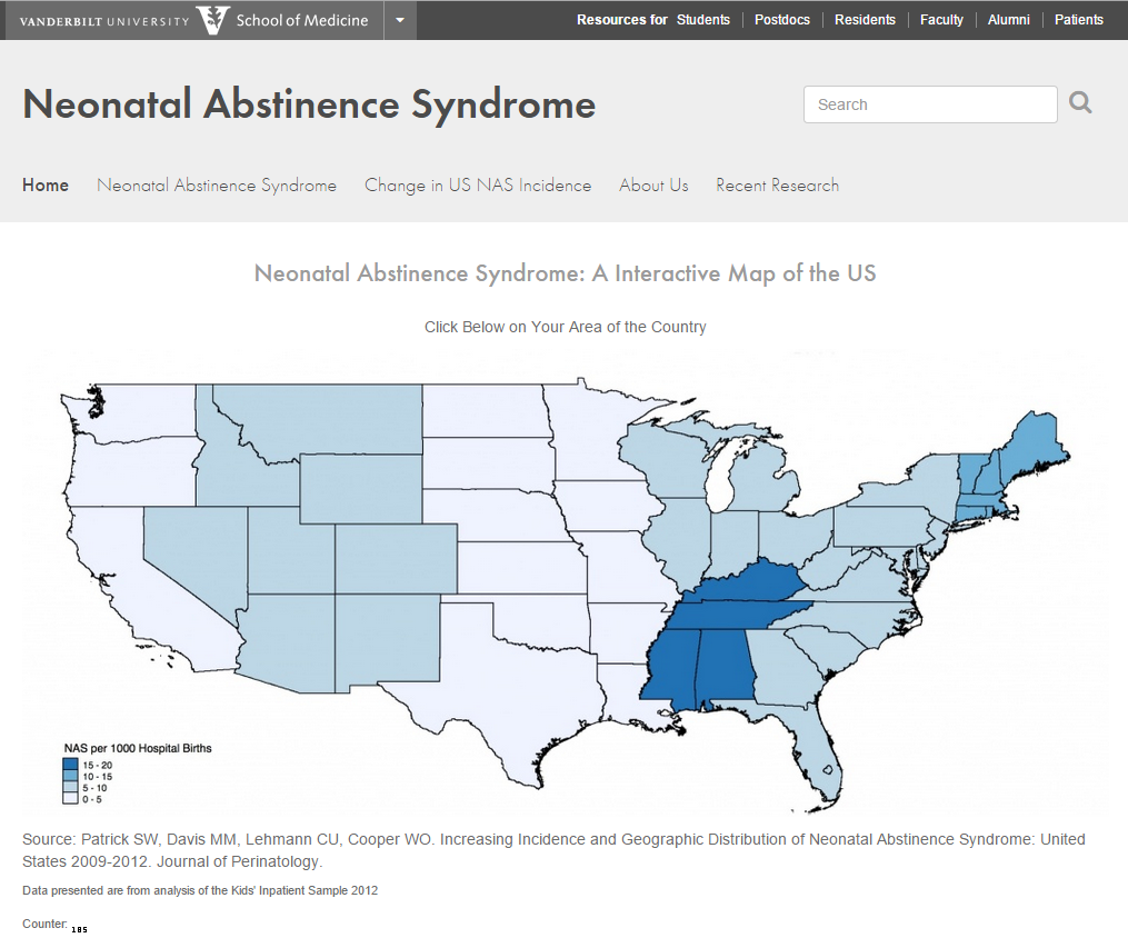 neonatal abstinence syndrome Neonatal abstinence syndrome (nas) is a group of problems that occur in a newborn who was exposed to addictive opiate drugs while in the mother's womb nas may occur.