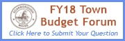 Budget Forum - Submit Your Question button