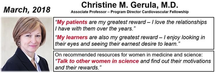December, 2016 - Christine M. Gerula, M.D.