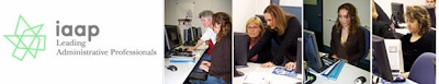 photos of administrative assistants successfully at work