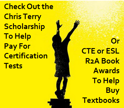Person Reaching Promoting Textbooks or Test Scholarships