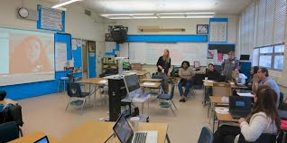 Skype conversation between LAUSD and OUSD