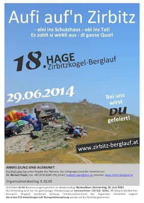 18. Zirbitzkogel-Berglauf