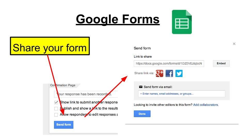 Google Form - SCS Google and Beyond