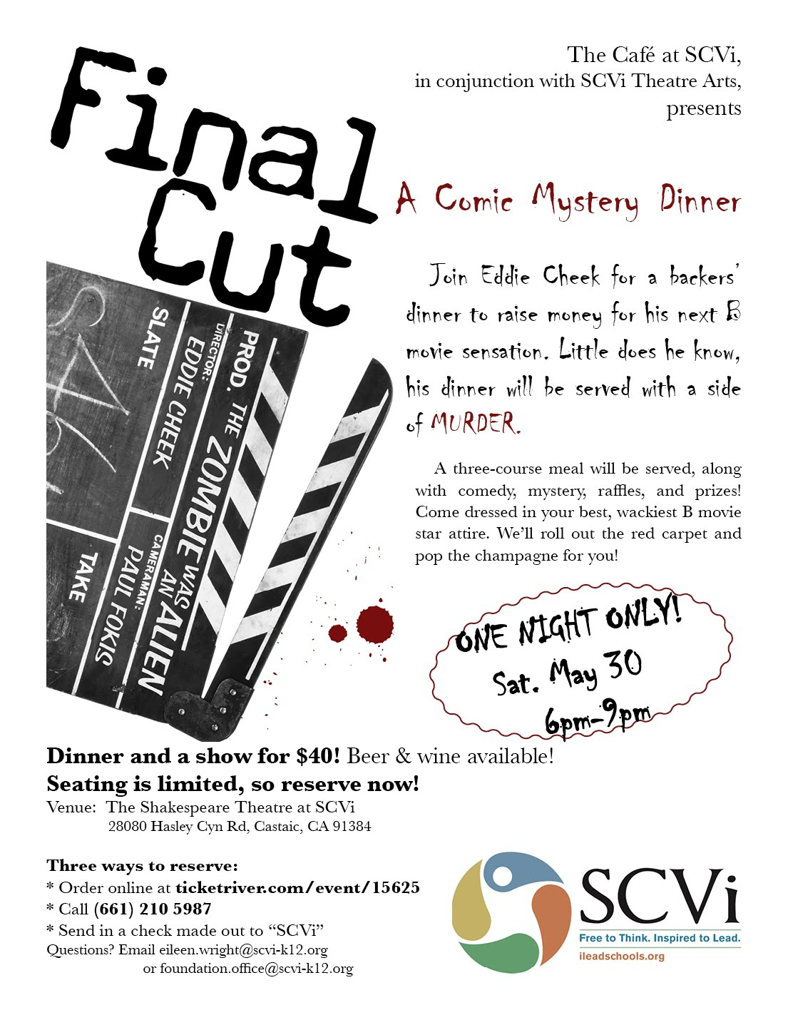 Final Cut flyer
