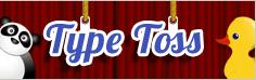 http://www.funtotype.com/game/type-toss