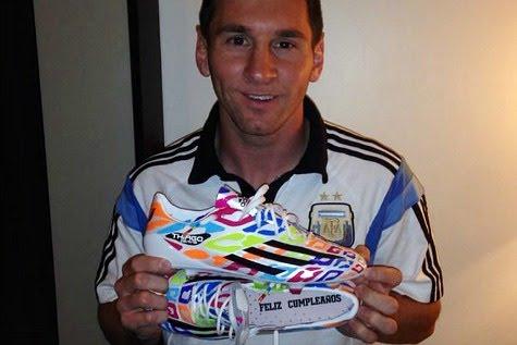 282e6754f0e4e Adidas presentó la edición especial de los guayos de Messi - Noticias y  Eventos deportivas