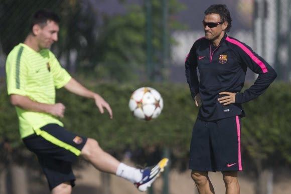 Luis Enrique cambia el discurso para suavizar la guerra con Leo Messi -  Noticias y Eventos deportivas 10cdd516d1de2