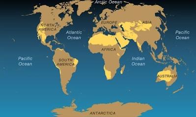 World Map   JL Deserts