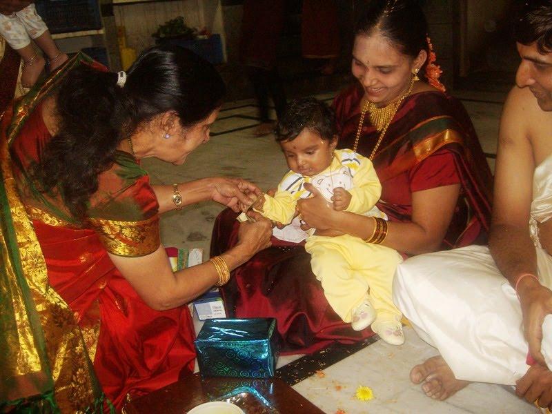 2) Hinduism - RITES OF PASSAGE - BIRTH