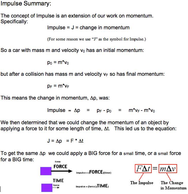As Physics Skills If Impulsive Force Maphysics