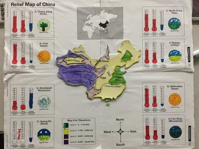 Topographic Map Games.China Topographic Map Mr St Hilaire S Classroom