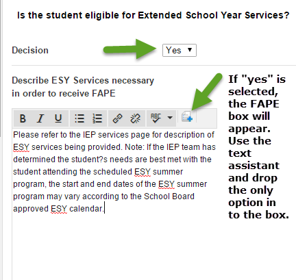 Providing Iep May Not Suffice If >> Extenuating Circumstances Esy For Pre K Data To Iep For Emergent