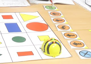 Using the Beebot