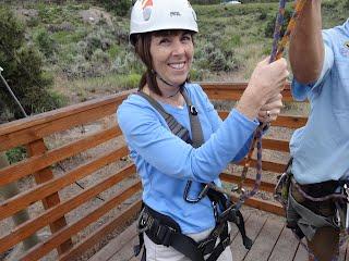 Zipline in Wolcott, Colorado
