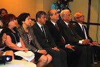 Altos representantes de la Universidades organizadoras en la Sesión inaugural del Congreso