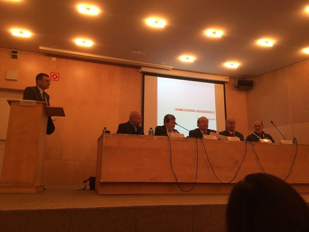 Imagen de la I Asamblea de la Asociación SICELE