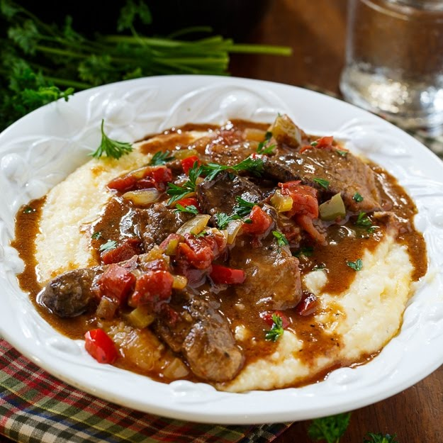 Emeril's Grillades and Grits