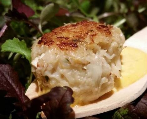 One Market Dungeness Crab Cake