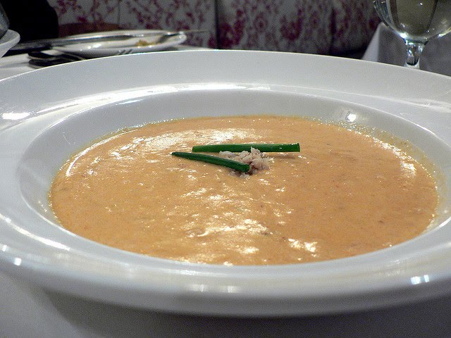 Chandler's Whiskey Crab Soup