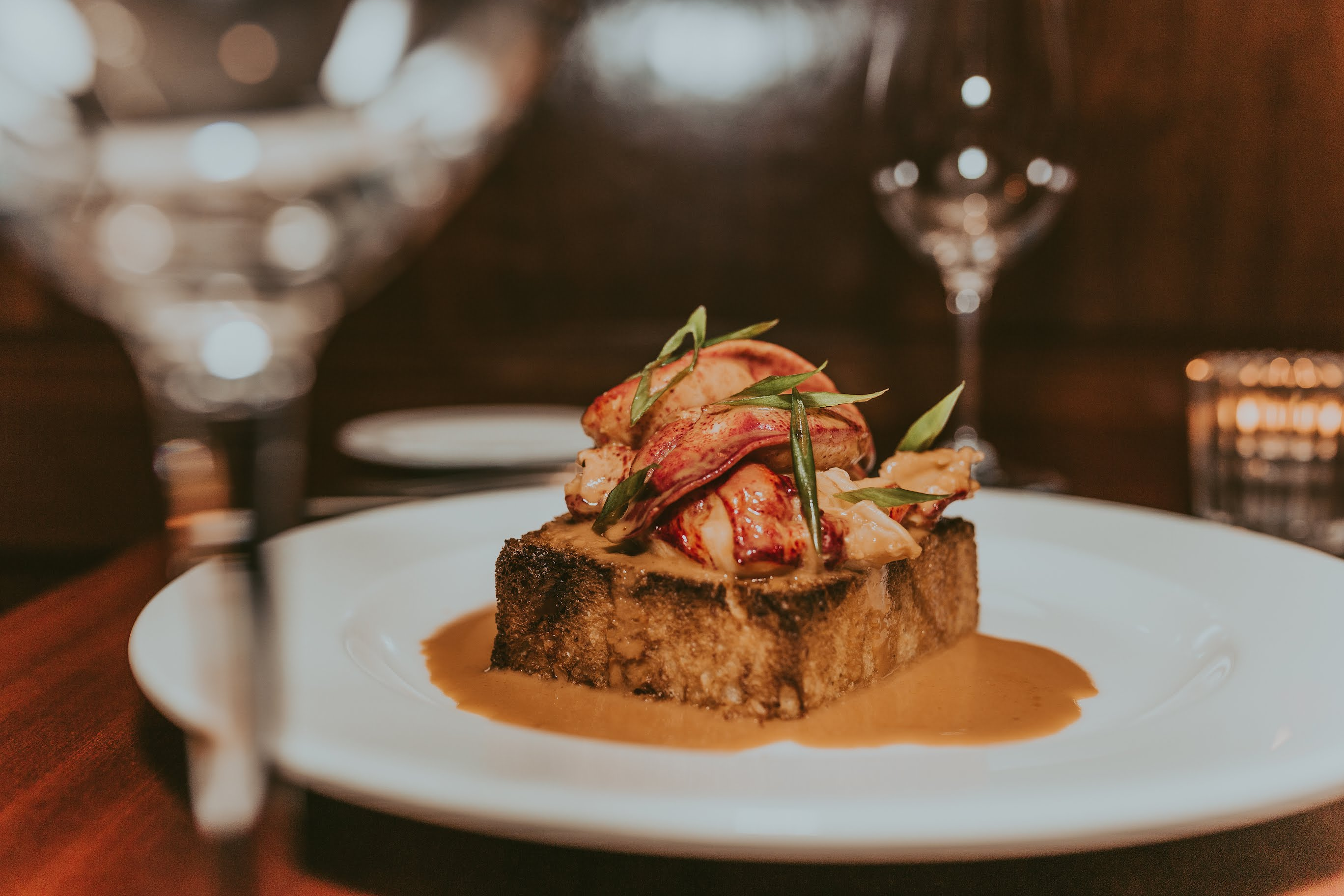 Lobster Bar Sea Grille Whole Chili Lobster Toast