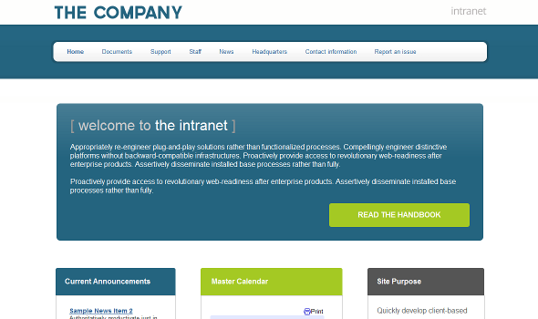 company intranet template - buy a sites template google sites templates premium themes