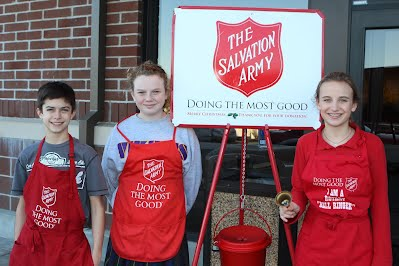 2015 Salvation Army Bell Ringing - St. Joseph Conway ...