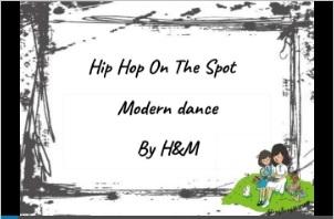 http://www.slideshare.net/nelalin/hip-hop-on-the-spot
