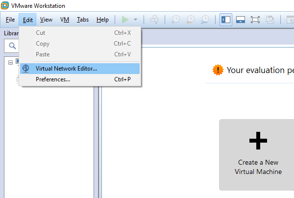 VMware Workstation Port Forward to a VM in a NAT Network