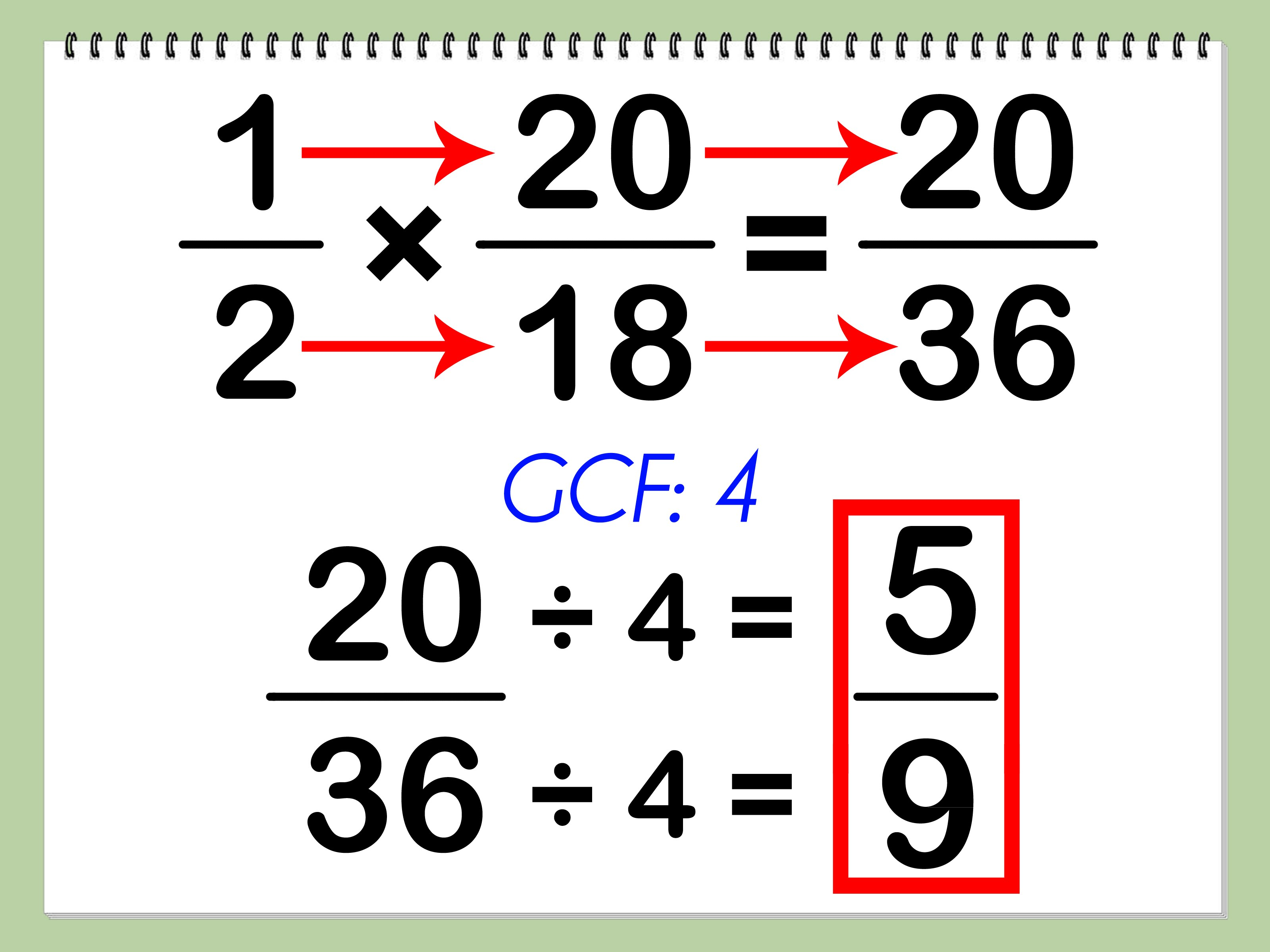 Multiplying And Dividing Fractions Mr Shircliff's Website