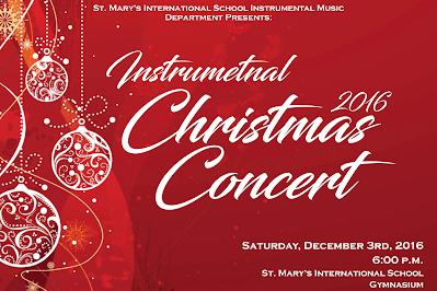 Instrumental Christmas Concert 2016