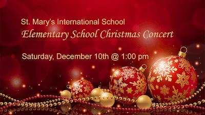 ES Christmas Concert