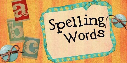 Image result for spelling words