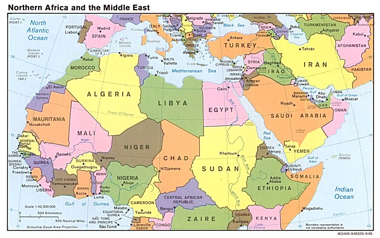 Map Of The Middle East And Africa MENA   Middle East North Africa   Lynch's PSGS Hub