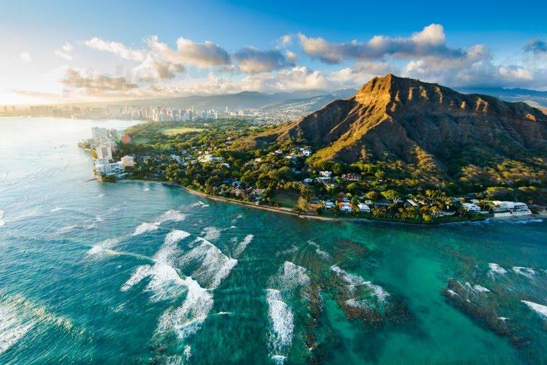 Рисунок 2 – Побережье На-Пали. Гавайи Гавайи 2808271