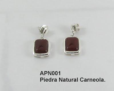 gran selección de 294ff 6b998 Aretes en Piedras y Plata - Milarya Jewelry