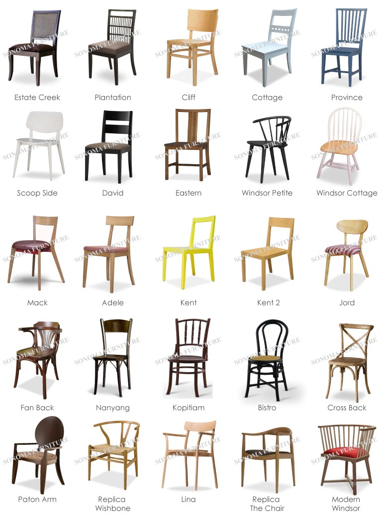 Malaysia made wooden side chair seating custom made for Designer furniture replica malaysia