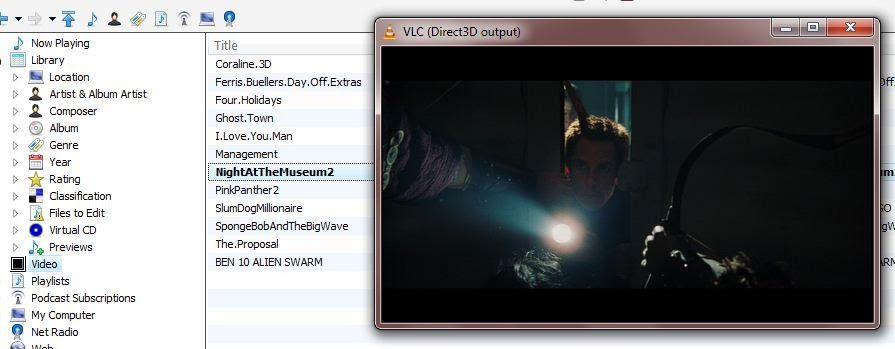 MediaMonkey to VLC Player