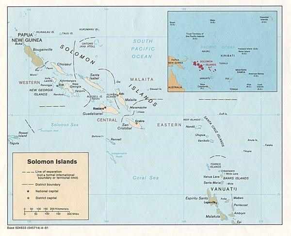 Solomon Islands Points Of Interest