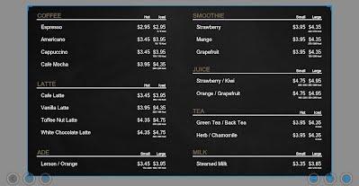 YouFrame Editor Digital Menu Board Template Update SG Backup - Restaurant menu board templates