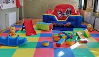 Picture of soft play toys