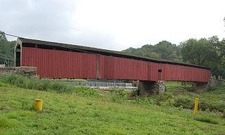 Pine Grove Covered Bridge, Little Britain, PA