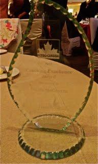 2015 Petro-Canada Coaching Excellence Award