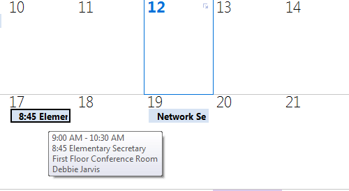 Calendar Sharing Permissions - Outlook Web Access (OWA