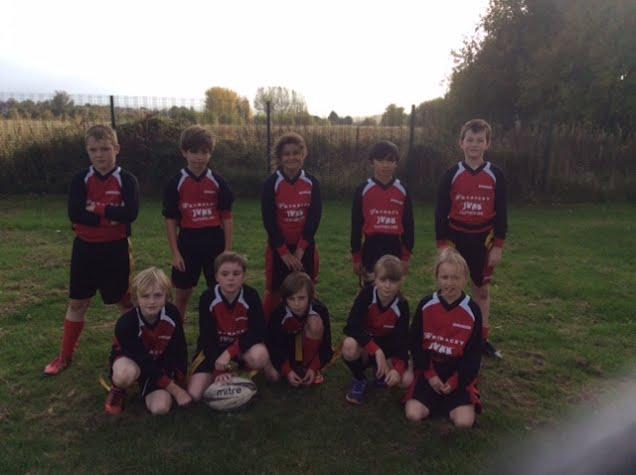 The winning team.