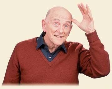 Lou Fant waving hello