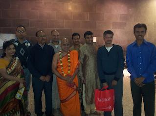 Swamiji's arrival at Tullamarine Airport, Melbourne, 30th Mar 2013