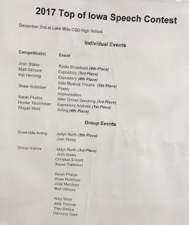 top of iowa conference speech 2018 contest photo